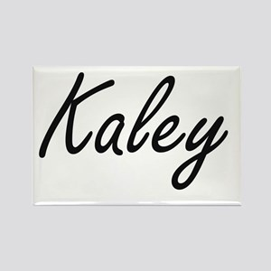 Kaley artistic Name Design Magnets