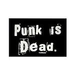 Punk is Dead Rectangle Magnet (10 pack)