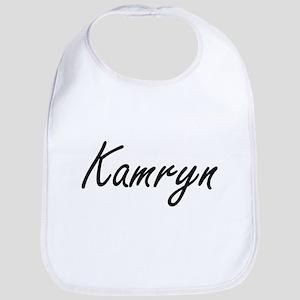 Kamryn artistic Name Design Bib