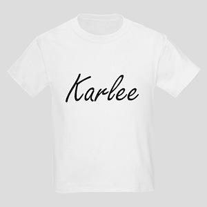 Karlee artistic Name Design T-Shirt