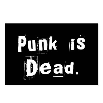 Punk is Dead Postcards (Package of 8)