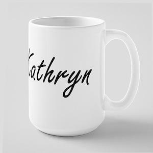 Kathryn artistic Name Design Mugs