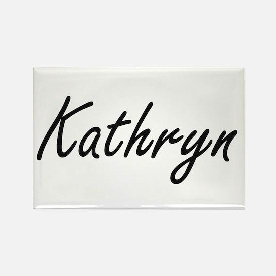 Kathryn artistic Name Design Magnets