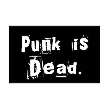 Punk is Dead Mini Poster Print