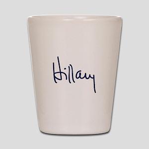 Hillary Signature Shot Glass