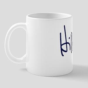 Hillary Signature Mugs