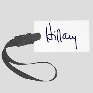 Hillary Signature Luggage Tag