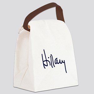 Hillary Signature Canvas Lunch Bag