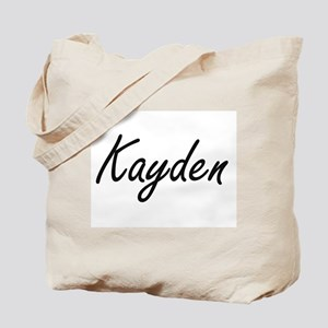 Kayden artistic Name Design Tote Bag