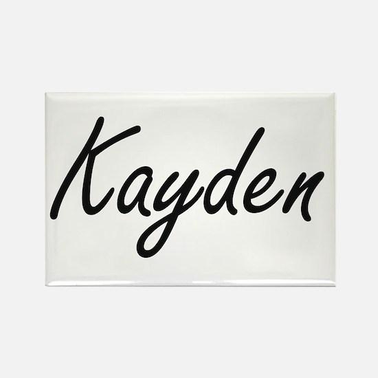 Kayden artistic Name Design Magnets