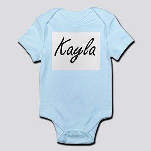 Kayla artistic Name Design Body Suit