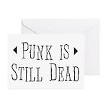 Punk = Still Dead Greeting Cards (Pk of 20)