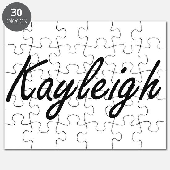Kayleigh artistic Name Design Puzzle