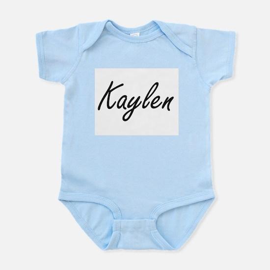 Kaylen artistic Name Design Body Suit