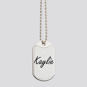 Kaylie artistic Name Design Dog Tags