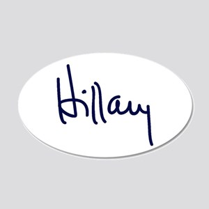 Hillary Signature Wall Decal