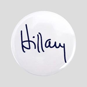Hillary Signature Button