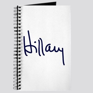 Hillary Signature Journal