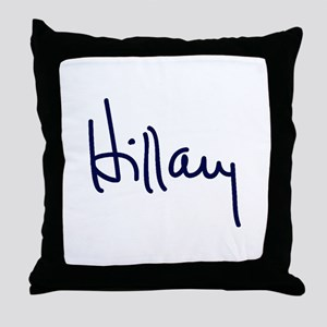 Hillary Signature Throw Pillow