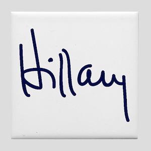 Hillary Signature Tile Coaster