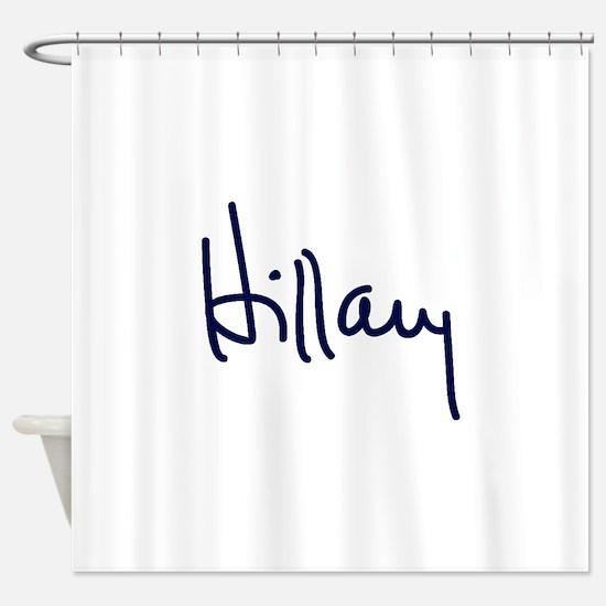 Hillary Signature Shower Curtain