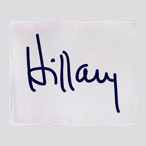 Hillary Signature Throw Blanket