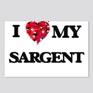 I Love MY Sargent Postcards (Package of 8)