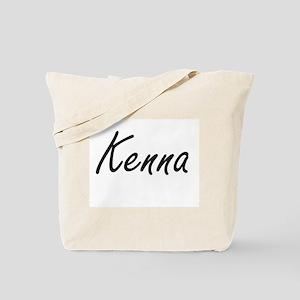 Kenna artistic Name Design Tote Bag