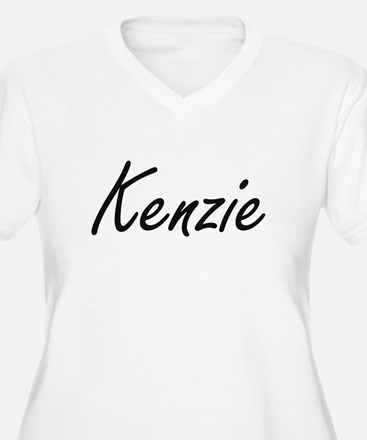Kenzie artistic Name Design Plus Size T-Shirt