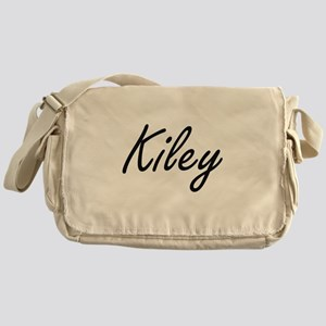 Kiley artistic Name Design Messenger Bag