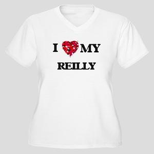 I Love MY Reilly Plus Size T-Shirt