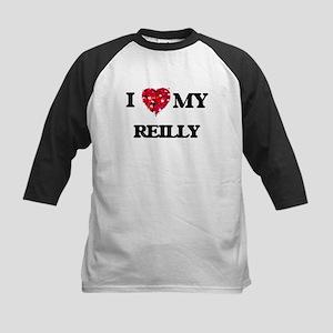 I Love MY Reilly Baseball Jersey