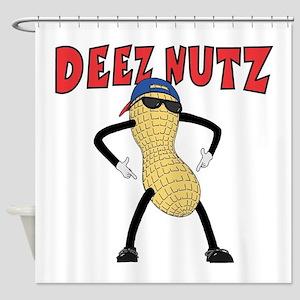 DEEZ NUTZ Shower Curtain