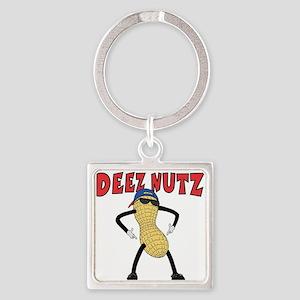 DEEZ NUTZ Square Keychain