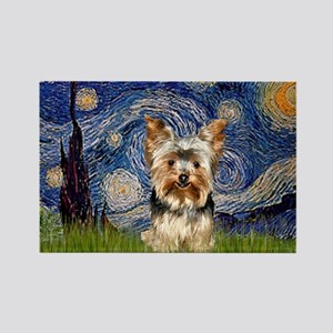 STARRY / Yorkie (17) Rectangle Magnet