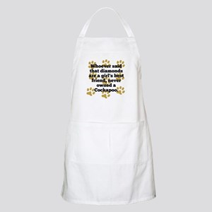 Cockapoos Are A Girls Best Friend Apron