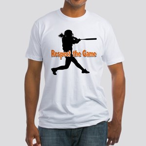 RESPECT THE GAME Fitted T-Shirt