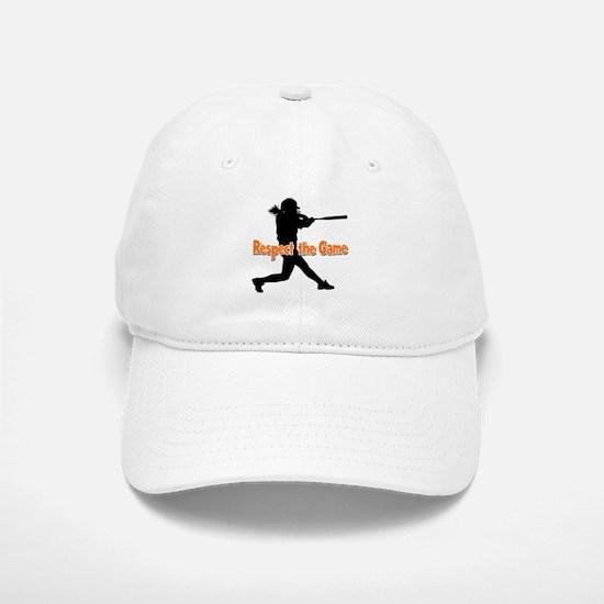 RESPECT THE GAME Baseball Baseball Cap