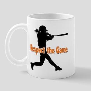RESPECT THE GAME Mug