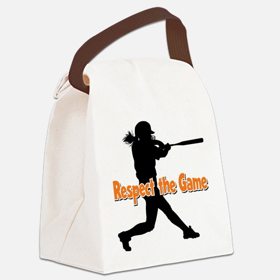RESPECT THE GAME Canvas Lunch Bag