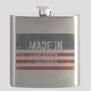 Made in San Quentin, California Flask