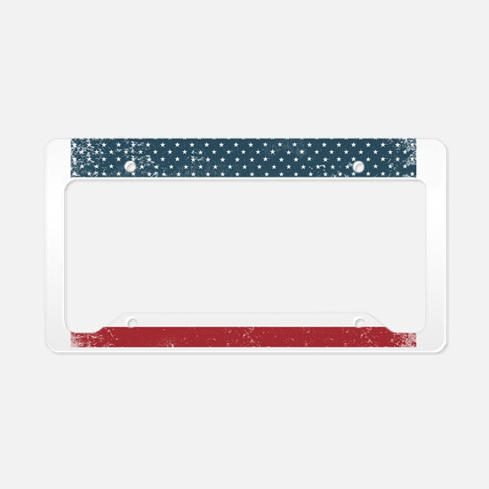 Made in San Quentin, Californ License Plate Holder