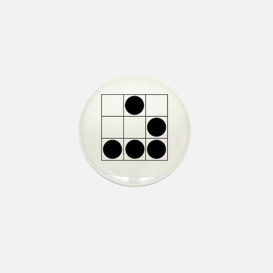 Unique Hackers Mini Button