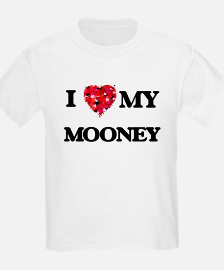 I Love MY Mooney T-Shirt