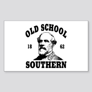 Old School Southern Rectangle Sticker