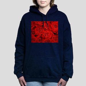 Red Roses Women's Hooded Sweatshirt