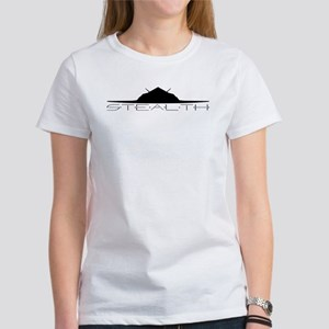 Black Stealth Aircraft T-Shirt