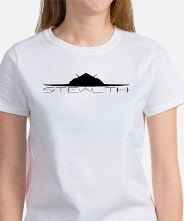 Black Stealth Aircraft T-Shirt