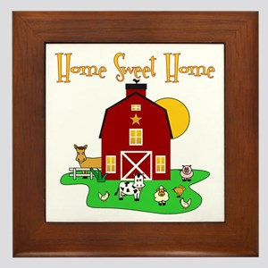 Scott Designs Farm Life Framed Tile