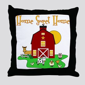 Scott Designs Farm Life Throw Pillow